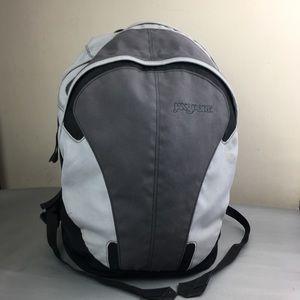 Jansport gray & black backpack